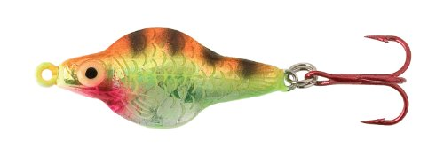 Lindy Rattl'N Flyer Spoon - Techni-Glo Perch - 1/8 (0.125 Ounce Perch)