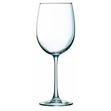 ARC International Luminarc Cachet White Wine Glass, 19-Ounce, Set of 4