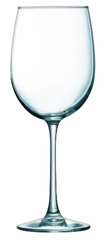 ARC International Luminarc Cachet White Wine Glass, 19-Ounce, Set of (Cachet White Wine Glass)