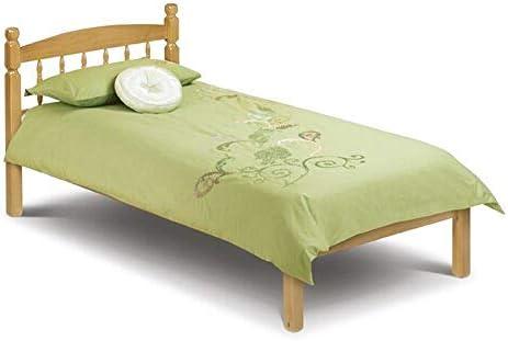 Woodward rústico diseño cama somier rígido con marco (marco ...