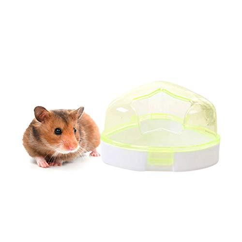 (Da.Wa Pet Hamster Room, Small Pets Hamster Bathroom Bath Sand Room Sauna Toilet (Green))