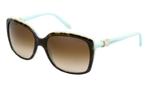 Tiffany 4076 81343B Tortoise 4076 Cats Eyes Sunglasses Lens Category - Tiffany Eye Cat Sunglasses