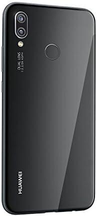 Huawei P20 Lite 64GB Single-SIM (GSM Only, No CDMA) Factory Unlocked 4G/LTE Smartphone (Black) - International Version