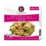FEEL GOOD FOODS Entre Noodle with Chicken and Broccoli, 9 Ounce (Pack of 8)