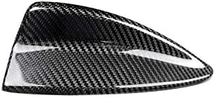 カーボンファイバー ルーフ アンテナ シャーク フィン フレーム デカール カバー トリム BMW 1 3 5 シリーズ E46 E90 E91 E92 E60 E61 2004-2011 205用 Autozone