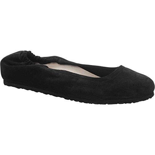 Birkenstock Suede Slides (Birkenstock Celina Black Suede Women's Sandals 39 (US Women's 8-8.5))