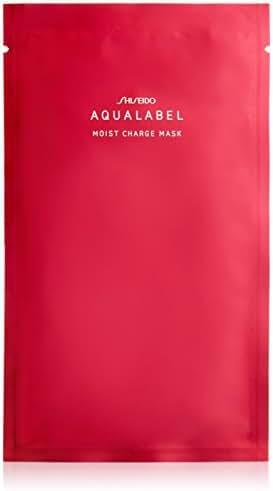 Shiseido AQUALABEL Hyaluronic Acid Mask | Moisture Charge Mask 23ml x 4 sheets