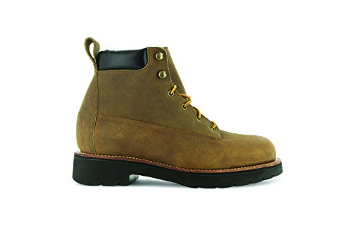 BossSole XL Livingston 6'' Trailblazer Leather Abram Tan M Boots 7 Work Boot Men's zqxvwE