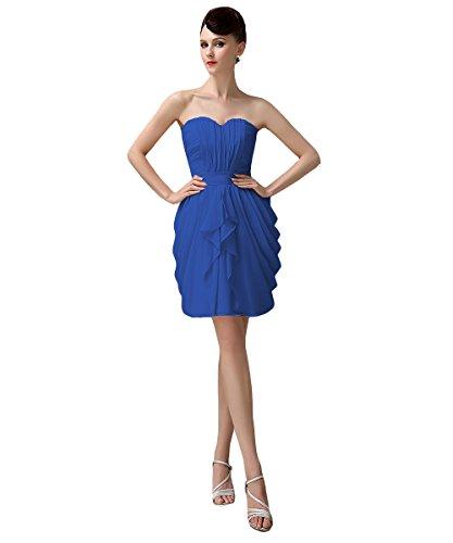Yesdress Mujer Light Blue Mangas Vestido Royal Para Sin IqRIrX