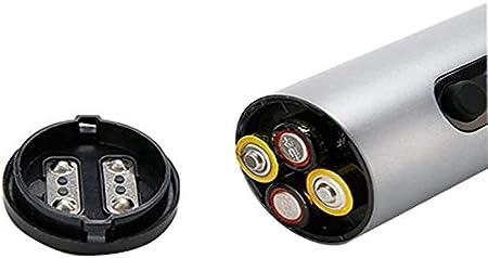 Abridor de vino automático, abrelatas de botella, sacacorchos, sacacorchos eléctricos, abrel de vino eléctrico apagado batería automática batería para corchetes sin cable con cortador de lámina platea