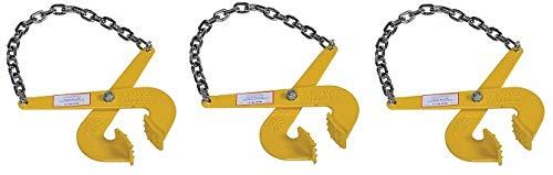 Vestil PAL-12 Steel Single Scissor Pallet Puller, 5000 lbs Capacity, 7'' Opening x 2-3/4'' Height Jaw (3-(Pack))