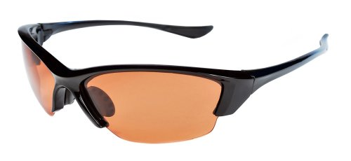 Polarized Sunglasses with TR90 Unbreakable Frame TRPL27 (Black & Bronze)
