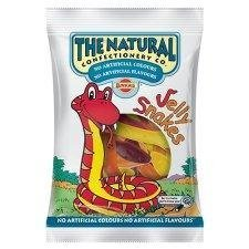Natural Confectionery Co Jelly Snakes 200g - Pack of 6