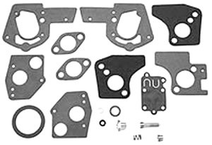 (Carburetor Overhaul Kit Replaces Briggs & Stratton 495606 and 494624)