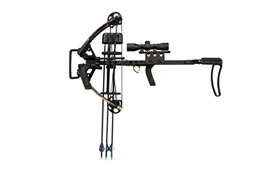 SAS 150 lbs In-Line Mini Vertical Crossbow with Split Limb - Made In USA (Right Hand Crossbow Only) (Mini Crossbow Quiver compare prices)