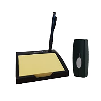 Byron Sentry BY403 60m Wireless Portable Pad and Pen Door Chime Kit with Digital Clock and  sc 1 st  Amazon.com & Byron Sentry BY403 60m Wireless Portable Pad and Pen Door Chime ... pezcame.com