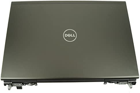 A12124 A12124 Grade A Dell Precision M4700 15.6 LCD Back Top Cover Lid Plastic Assembly w// Hinges