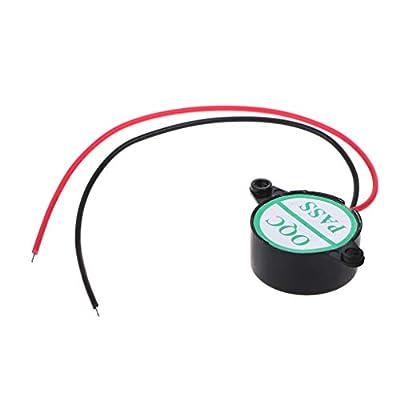 RingBuu 95DB Piezoelectric Buzzer Alarm Horn - 3-24V Electric Buzzer Alarm Loud Speaker Warning Car Security Horn Automobile Siren