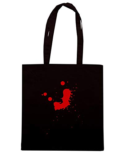 BLOOD Borsa Speed Shirt MENS SPLAT WHT Nera FUN0821 CU Shopper 7HxRXvnx