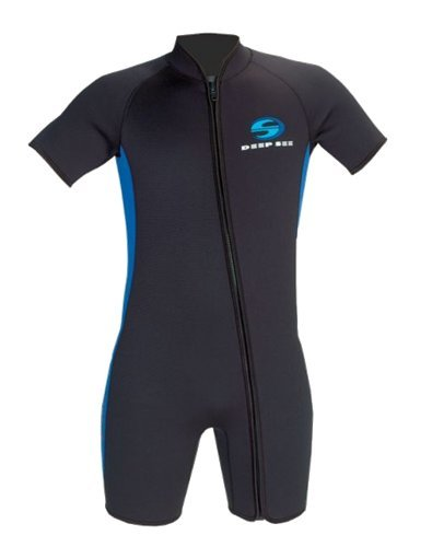 Deep See by Aqua Lung 3mm Men's Shorty Wetsuit (X-Large)