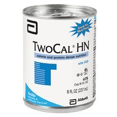 Twocal Hn With Fos High Nitrogen Liquid Nutrition Ready To Use (Vanilla) 8-Fl-Oz Can – 1 Case Of 24