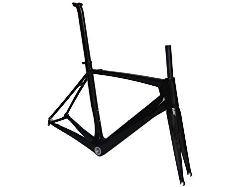 Carbon Road Bike Frameset ( FOR BSA ) : 54cm Frame Fork Seatpost Clamp