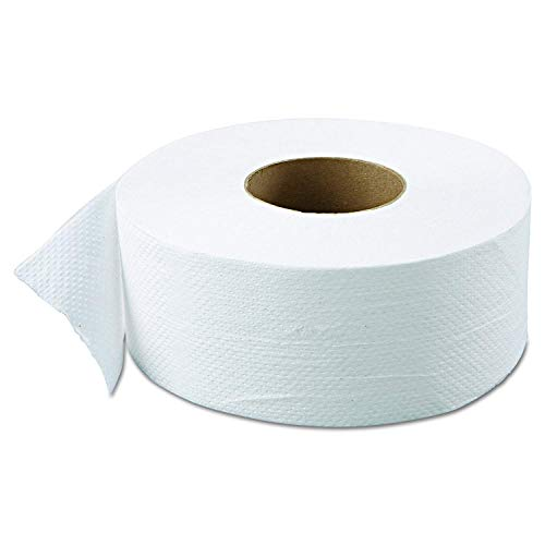 "Green Heritage 800 9"" Diameter x 3.42"" Width, 2-Ply Jumbo Roll Bathroom Tissue (Case of 12) (Pack of 36.)"
