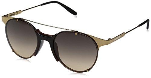 Carrera Men's Ca128s Round Sunglasses, Antique Gold/Dark Gray Gradient, 52 - Round Sunglasses Amazon