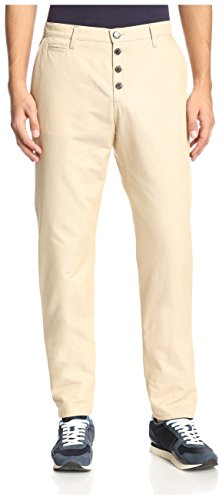 26576b3579 Versace Jeans Men s EA2GHB105-E15563-E700 Slim Tapered Chinos