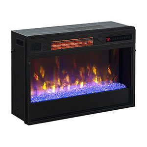 Amazon.com: ClassicFlame 26-In 3D SpectraFire Plus Infrared Fireplace Insert w/ Glass - 26II342FGT: Home & Kitchen