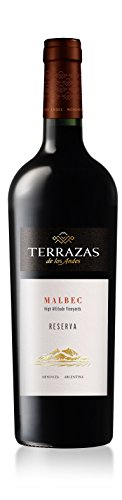2015 Terrazas Malbec Reserva, Argentina 750 mL Wine