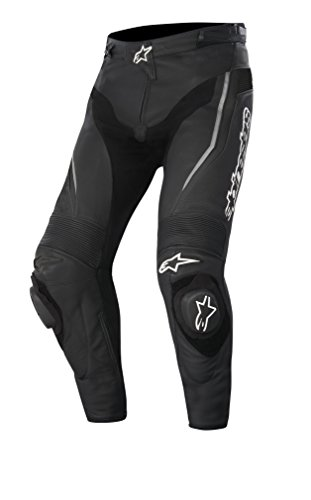 Alpinestars Track Men's Sports Bike Motorcycle Pants - Black, Size 50