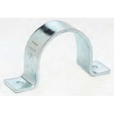 B2400 Series (Cooper B-Line B2400-3SS4 B2400 Series 2-Hole Standard Pipe Strap Steel 304 Stainless)