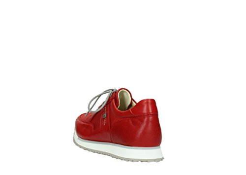 Wolky E Walk Grey Stretch comb 70570 rot sommer Leder