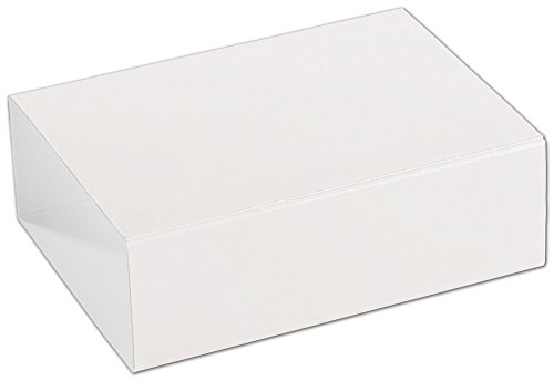 Food & Gourmet Boxes - White 6-Truffle Confectionery Sleeves (100 Sleeves) - BOWS-SLEVE-6WH -  Miller Supply Inc., DFS-1165