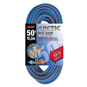 50 Ft 12/3 Extreme Temperature Extension Cord, LT530830 by Prime Wire & Cable