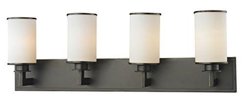 (Z-Lite 413-4V 4 Light Vanity, Olde Bronze )