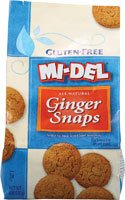 Midel Ginger Snaps Gluten Free ( 12x8 OZ)