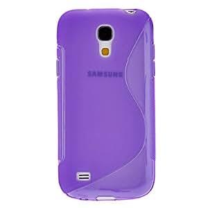 conseguir S-Shaped Diseño Caso suave de TPU para Samsung Galaxy S4 Mini I9190 (colores surtidos) , Blanco