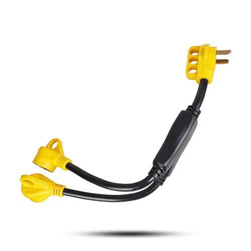 50 amp rv y adapter - 8