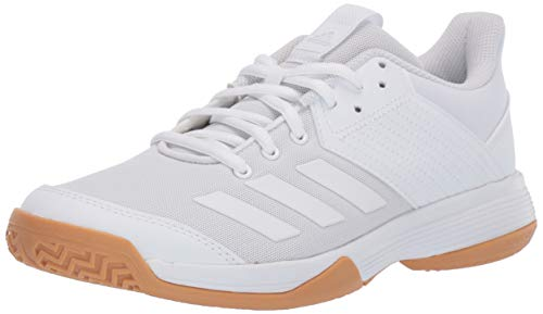 adidas Women's Ligra 6 Volleyball Shoe, White/Gum, 8 M US