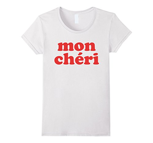 Womens Mon Cheri t-shirt Large White