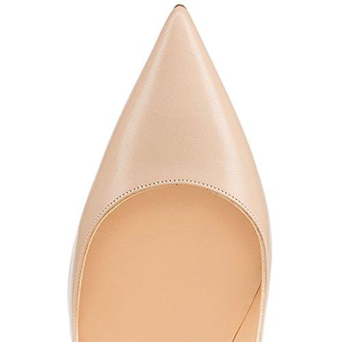 Faschion Dünne Partei Pumps Damenschuhe SUKaite EDEFS 120mm Schuhe Spitzschuh Klassische Stiletto 5xpqCfw0