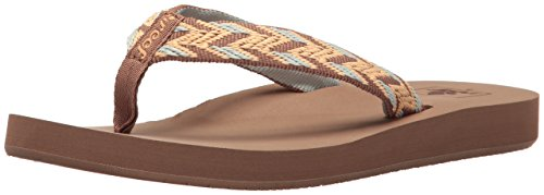 - Reef Women's Mid Seas Sandal, Mocha Peach, 6 M US