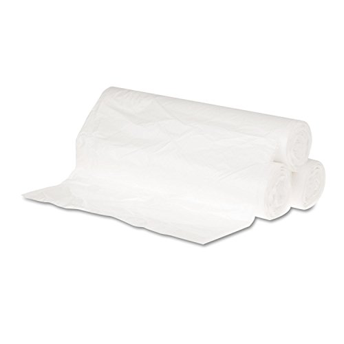 GENERAL SUPPLY 243106 Hi-Density Can Liners 24 x 31 6mic Natural 50 Bags/Roll 20 Rolls/CT