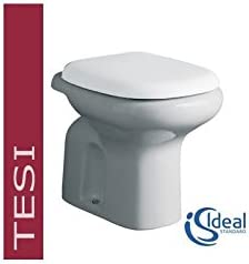 Sedile Wc Ideal Standard Serie Tesi.Ideal Standard Tesi Classic T3036 Vaso Scarico Pavimento Senza Sedile Amazon It Casa E Cucina