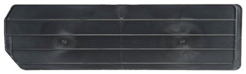 AKRO-MILS 40280 Lengthwise Divider for 30280 Super Size AkroBin, Black, Pack of 2
