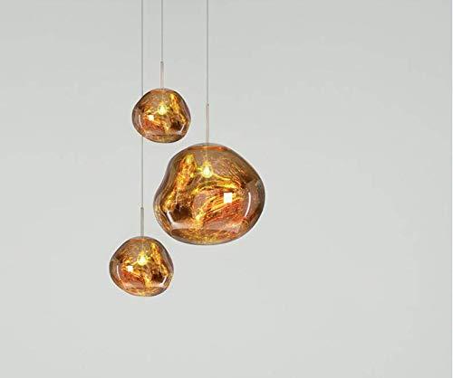Amazon.com: CLFINE Tom Dixon PVC Pendant Lamp, Lava Melt ...