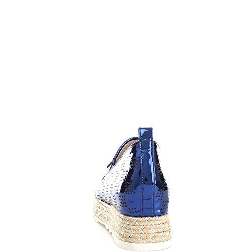 LUCIANO BARACHINI 8131C Ballerines et Mocassins Femme Blue rueuUUjnpX