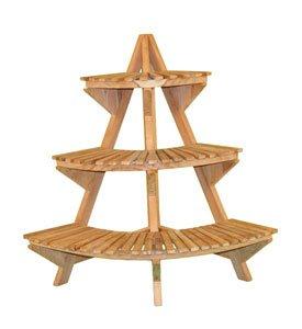 Teak Wood Plant Stand